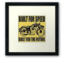 MOTORCYCLE-1920'S Framed Print