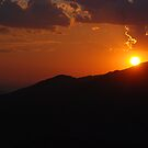 Sunset on Mt. Lemmon by Barbara Manis