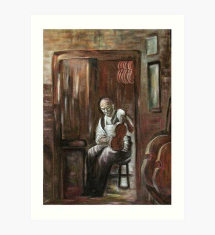 Mr. Schmidt Art Print
