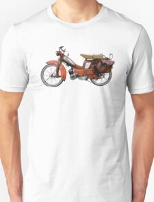 Vintage French Motobecane Moped T-Shirt