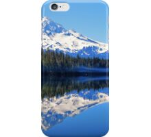 A Mount Hood Reflection iPhone Case/Skin