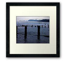 Evening Tide - Sandsend Framed Print