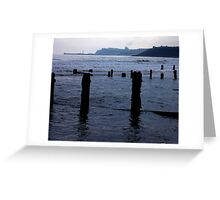 Evening Tide - Sandsend Greeting Card