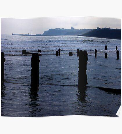 Evening Tide - Sandsend Poster