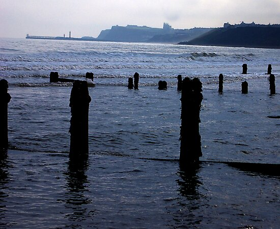 Evening Tide - Sandsend by Trevor Kersley