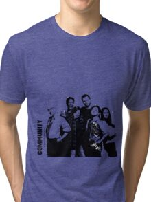 Community season 6 Tri-blend T-Shirt