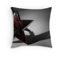 Hammer and Sickle - St. Petersburg, Russia Throw Pillow