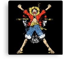 King of Pirates Canvas Print