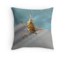 Unwanted Visitor Throw Pillow