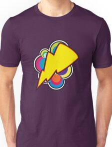 Retro Lightning (smaller) Unisex T-Shirt