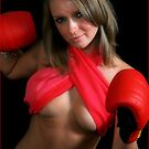 boxing red by Roger  Barnes