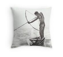 The Shooter Throw Pillow