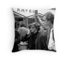 Carnaby Traders Throw Pillow