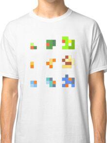 starters pokemon 3rd gen 8bits Classic T-Shirt
