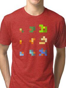 starters pokemon 3rd gen 8bits Tri-blend T-Shirt