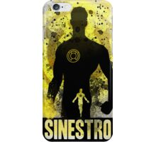 Sinestro Splash iPhone Case/Skin