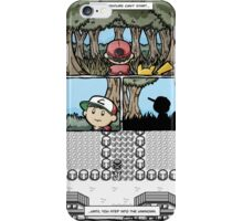 your adventure pokemon can't start iPhone Case/Skin