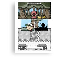 your adventure pokemon can't start Canvas Print