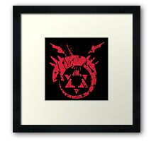 Mark of the Serpent Framed Print