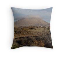 Mountain Lanzarote Throw Pillow