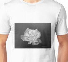 Rose in Graphite Pencil Unisex T-Shirt
