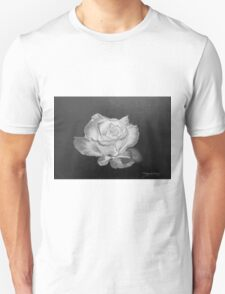 Rose in Graphite Pencil T-Shirt