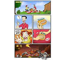 honey on pokemon funny Photographic Print