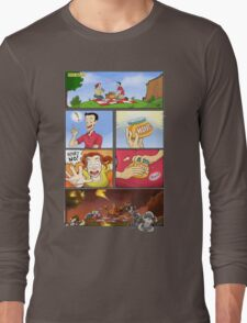 honey on pokemon funny Long Sleeve T-Shirt