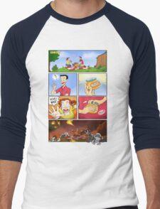 honey on pokemon funny Men's Baseball ¾ T-Shirt