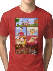 honey on pokemon funny Tri-blend T-Shirt