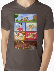 honey on pokemon funny Mens V-Neck T-Shirt