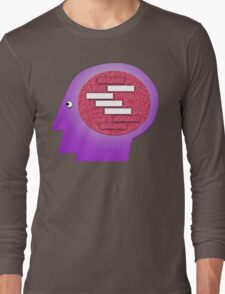 Blank Blank Blank Blank. Long Sleeve T-Shirt
