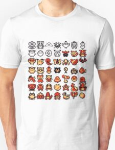 pokemon 2nd gen all sprites T-Shirt