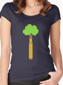 Bullet Trees Women's Fitted Scoop T-Shirt