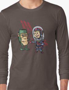 SpaceKid and Shortstack Scroggins of Planet Miniscule 4 T-Shirt