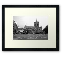 Christchurch Cathedral Dublin Framed Print