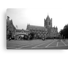 Christchurch Cathedral Dublin Canvas Print