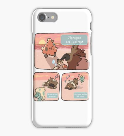 pokemon funny scene iPhone Case/Skin