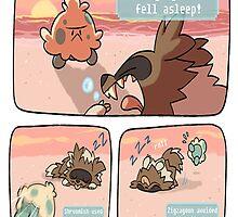 pokemon funny scene by garyoak89