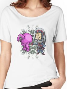 SpaceKid and a Roundbodied Grazealump Women's Relaxed Fit T-Shirt