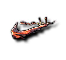 Arabic Sneak Lava Tee by SNEAKexe