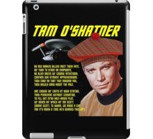 Tam O'Shatner iPad Case/Skin