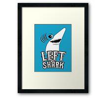 Left Shark !!! - Super Bowl Halftime Shark 2015 Framed Print