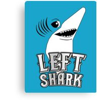 Left Shark !!! - Super Bowl Halftime Shark 2015 Canvas Print