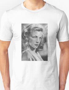 Lauren Bacall in Graphite Pencil T-Shirt