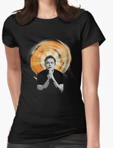 In Elon Musk We Trust Womens Fitted T-Shirt