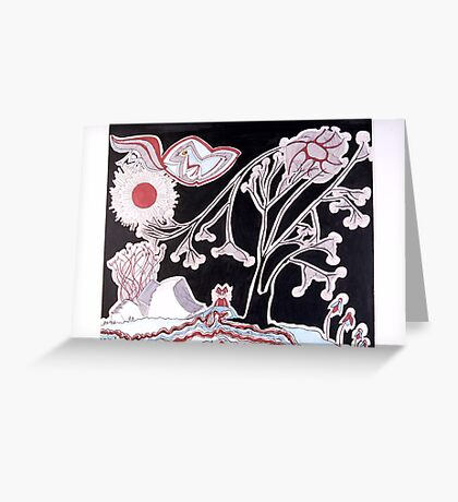 Creation 3 Greeting Card