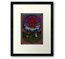 Yule One, the Holly King gives way to the Oak King Framed Print