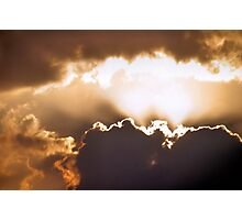 Silver Lining Photographic Print