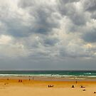 Stormy Cape Woolamai Beach, Phillip Island, Victoria, Australia by Michael Boniwell